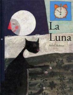 "Anne Herbauts. ""La luna"". Editorial Kókinos (2 - 6 años) Telling Stories, Album, Moon, Activities, Illustration, Editorial, Kids, Animals, Books"