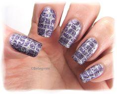 Nail Art by Belegwen: Depend Bluebell & 233