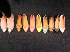 so many pretty flats!