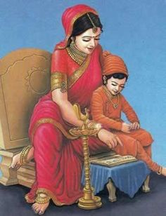 RASTRAMATA RAJMATA JIJABAI - MOTHER OF SHIVAJI & daughter of Yadav King of Devagiri