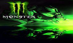 Monster Flag Banner sizes 90*150cm Banner Flying Monster Energy Kawasaki flag #Unbranded