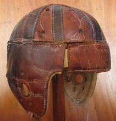 Casco de futbol americano Mitchel & Ness. Modelo Toebe 60 Philadelphia (Estados Unidos) 1910