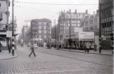 Argyle Street, Glasgow, 19 April 1960   by allhails