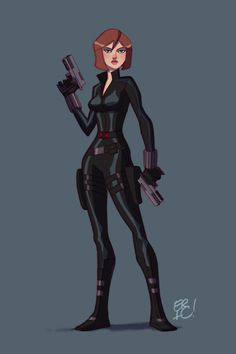 The Avengers Black Widow by EricGuzman.deviantart.com on @deviantART