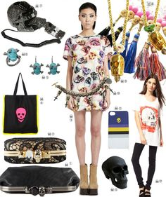 Skull Fashion - check out our post at - http://www.stylehunter.com.au/style-news/skulls-fashion