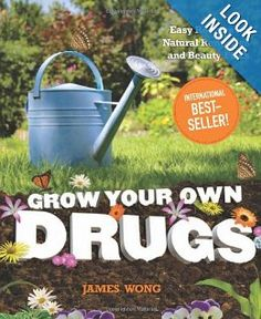 Grow Your Own Drugs: Easy Recipes for Natural Remedies and Beauty Fixes: James Wong: Amazon.com: Books