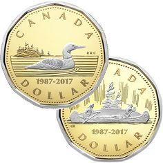 2 Dollar Gold 30 Jahre Loonie PP