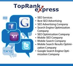 TopRank Express is a leading SEO company providing google seo, yahoo seo, bing seo, search engine optimisation, search results optimisation, mobile search optimisation, pay per click advertising,  ppc adword, ad word advertising, youtube marketing, e Inspiring, Keep Up The Great Work, This is Great, {also|by the way|if yo