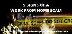 "5 Signs Your Work from Home ""Job Offer"" is a Scam"