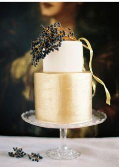 Rustic Autumn Wedding Cakes