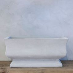 Fluted Trough
