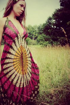 Hippie dresses make me long for summer
