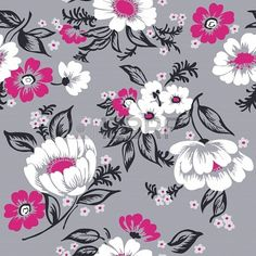 Seamless Floral Background Beautiful Set - for your design and scrapbook