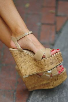 Get Your Tan On Wedge: Tan