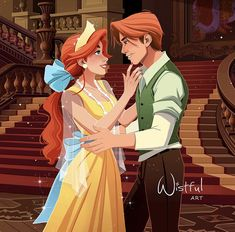 *ANASTASIA & DIMITRI ~ Once upon a december I wish you in advance a merry Christmas with magical moments with your loved ones. Disney Anastasia, Dimitri Anastasia, Anastasia Movie, Anastasia Romanov, Anastasia Cartoon, Anastasia Cosplay, Anastasia Musical, Disney Animation, Disney Pixar
