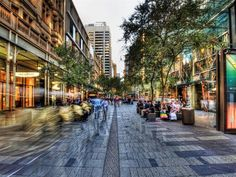 Pitt Street Mall is located in the heart of The Sydney CBD and is Australia's busiest and most cosmopolitan shopping precinct boasting retail centres with more than 600 speciality stores, all within two city blocks you're almost certain to find something to fit your style and budget.