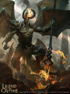 Krulltar, O Mestre das Aberações. É um bastardo de Ulor com um simples demônio. Ry'lah, esposa e irmã de Ulor, ficou furiosa quando soube da traição de Ulor. Ela exigiu a morte de Krulltar pelo mesmo representar uma linhagem mais fraca da família. Ulor poupo Krulltar quando viu seu potencial. Ele então garantiu a posição de Mestre General a Krulltar, estando abaixo apenas de Ulor, Ry'lah e de seus quatro meio-irmãos.