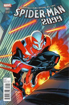 Preview: Spider-Man 2099 #1, Spider-Man 2099 #1 Story: Peter David Art: Will Sliney Cover: Francesco Mattina, Kris Anka, Afu Chan & Will Sliney Publisher: Marvel Publicat..., #AfuChan #All-Comic #All-ComicPreviews #Comics #FrancescoMattina #KrisAnka #Marvel #PeterDavid #previews #Spider-Man2099 #WillSliney