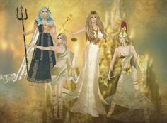 On IMVU Nowhere Gods and Goddess