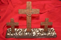 Back to the ancient ways> wooden cross craft