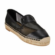 Stella McCartney >> Mesh-Panel Espadrilles