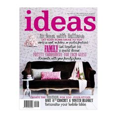 <b>Ideas</b> is the ultimate guide to fresh, modern living for women with creative flair and a passion for life. Inspirational Readings, Winter Blankets, Passion For Life, Free Magazines, Learn To Read, Easy Projects, Step By Step Instructions, Creative Inspiration, Letters