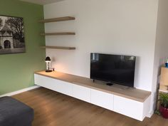Reese interior construction Dordrecht - Ikea DIY - The best IKEA hacks all in one place Living Room Tv Unit, Ikea Living Room, Tv Furniture, Furniture Design, Bedroom False Ceiling Design, Muebles Living, Home And Living, Living Room Designs, Family Room