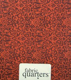 """Fabric Quarters Cotton Fabric 18""""-Assorted Red"""
