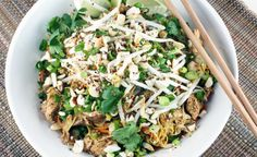 Paleo Pad Thai (paleo/primal--I would personally use fish sauce rather than anchovies, but use whatever you have on hand!)