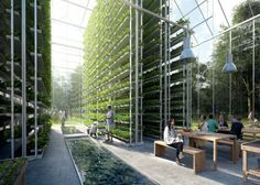 """Agricultural Futures: From Home Aeroponic Gardens to Vertical Urban Farms - """"Existing paradigms of small personal gardens and large outdoor farms can be thought of as bookends to a growing library of indoor farming possibilities."""" http://ift.tt/2oqOa2q"""