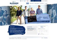 Luxury Card: #cartafedeltà di Blooker #abbigliamentouomo. #Sito web realizzato da Estensa web agency