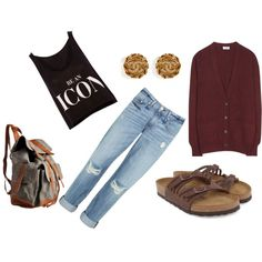 A fashion look from July 2013 featuring Closed cardigans, Pull&Bear tops e rag & bone jeans. Browse and shop related looks.