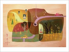 Mike Yamada - Print - Summertime - Nucleus | Art Gallery and Store