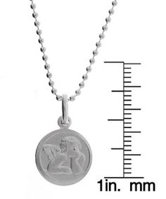 @Overstock - Show your devotion with this Raphael Guardian Angel medal necklace  Bright jewelry will accent any wardrobe  Chain features beaded chain and medal featuring archangel Raphaelhttp://www.overstock.com/Jewelry-Watches/Sterling-Essentials-Sterling-Silver-18-inch-Raphael-Guardian-Angel-Necklace/2654115/product.html?CID=214117 $28.49