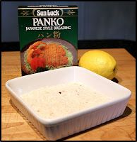 Sandra's Alaska Recipes: MAX'S PANKO PAN-SEARED ALASKA HALIBUT CHEEKS