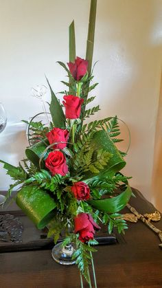 Exotic Flowers, Purple Flowers, Beautiful Flowers, Church Flowers, Funeral Flowers, Tall Flower Arrangements, Grass Flower, Corporate Flowers, Valentines Flowers