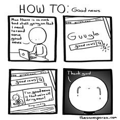 How to: Comics :: HOW TO: Good news | Tapastic Comics - image 1