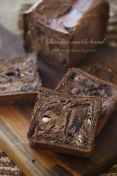 Marble Chocolate Chocolate Pan: Lovely-Jubbly Days Cooking Bread, Bread Baking, Marble Chocolate, Chocolate Chocolate, Japanese Chocolate, Bread Art, Sweet Buns, Ice Cream Pies, Best Italian Recipes