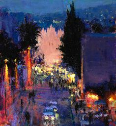 Andrew Gifford - Damascus Gate, night