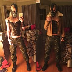 39 creative costumes inspired by video games tomb raider costume bane costume diy solutioingenieria Choice Image