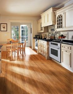 Hardwood and laminate floors are beautiful modern ideas for floor decoration. Hardwood and laminate are wood floor materials that bring warmth and fantastic texture into modern interior design and decorating. Lushome shares some tips for choosing the best flooring for your rooms.    Wood floor is gr