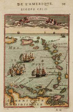 This day in 1634 - Johan van Walbeecks ships bypass St-Anna Bay, Curacao.