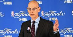 LOS ANGELES -- NBA commissioner Adam Silver floated the possibility of a modified playoff seeding Adam Silver, Nba Playoffs, Finals, Change, Conference, Sports, Life, Ideas, Hs Sports