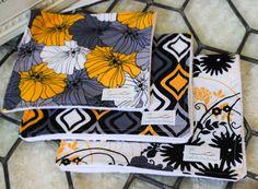 Burp Cloths Set of 3 Handmade
