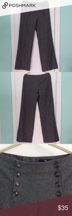 H&M Wool Blend Sailor Slacks Sharp wool blend wide leg trousers from H&M. Machine washable. NWT H&M Pants Trousers