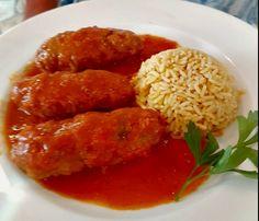 Ελληνικές συνταγές για νόστιμο, υγιεινό και οικονομικό φαγητό. Δοκιμάστε τες όλες Greek Recipes, Tandoori Chicken, Food Dishes, Risotto, Food To Make, Dinner Recipes, Food And Drink, Cooking Recipes, Tasty