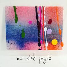 oui c'est psyché Phrases, Art Moderne, Oui, Oeuvre D'art, Plexus Products, Art Work, Modern Art, Abstract Art, Crafts