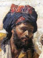 Edwin Lord Weeks (1849-1903), an Orientalist painter, was born in Massachusetts, the child of wealthy merchants. The placard at the Virginia Museum of Fine Arts in Richmond states he was a photographer, writer, explorer,  @Shirin Mg-gol