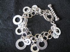 Washer Charm Bracelet