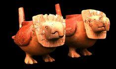 Pariti Tiahuanaco Two Birds, Inca, Treasure Island, Ancient Art, Bolivia, Piggy Bank, Archaeology, Aztec, Pottery